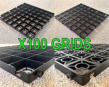 Allée X100 + Membrane Feuille = 25 mètre carré de gravier les ...