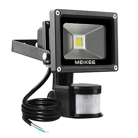 Meikee motion sensor flood light 10w super bright outdoor led flood meikee motion sensor flood light 10w super bright outdoor led flood lights high output aloadofball Gallery