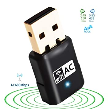 XP Wireless Internet USB Adapter WiFi Dongle 150Mbps for Windows 7 Vista US