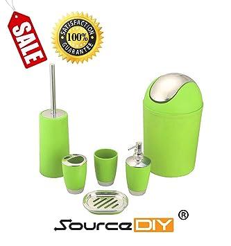 6 Pcs Badezimmer Accessories By Sourcediy Abfalleimer Wc Burste