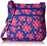 Vera Bradley Triple Zip Hipster, Art Poppies
