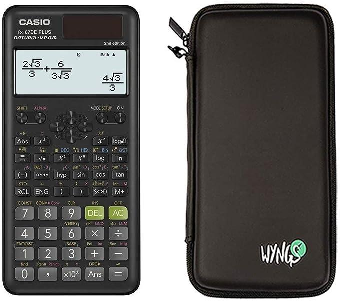 Casio Fx 87de Plus 2 Schutztasche Erweiterte Elektronik