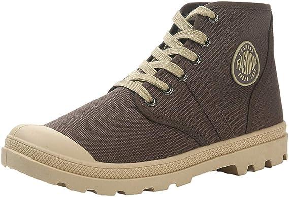 LILIHOT Wanderschuhe Paar Sneaker Canvas hohe Schuhe atmungsaktiv Sports Outdoor Boots Wilde Freizeitschuhe rutschfeste Wanderschuhe Wasserdicht