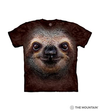 aff671e22 Amazon.com: The Mountain Kids' T-Shirt - Sloth Face: Clothing