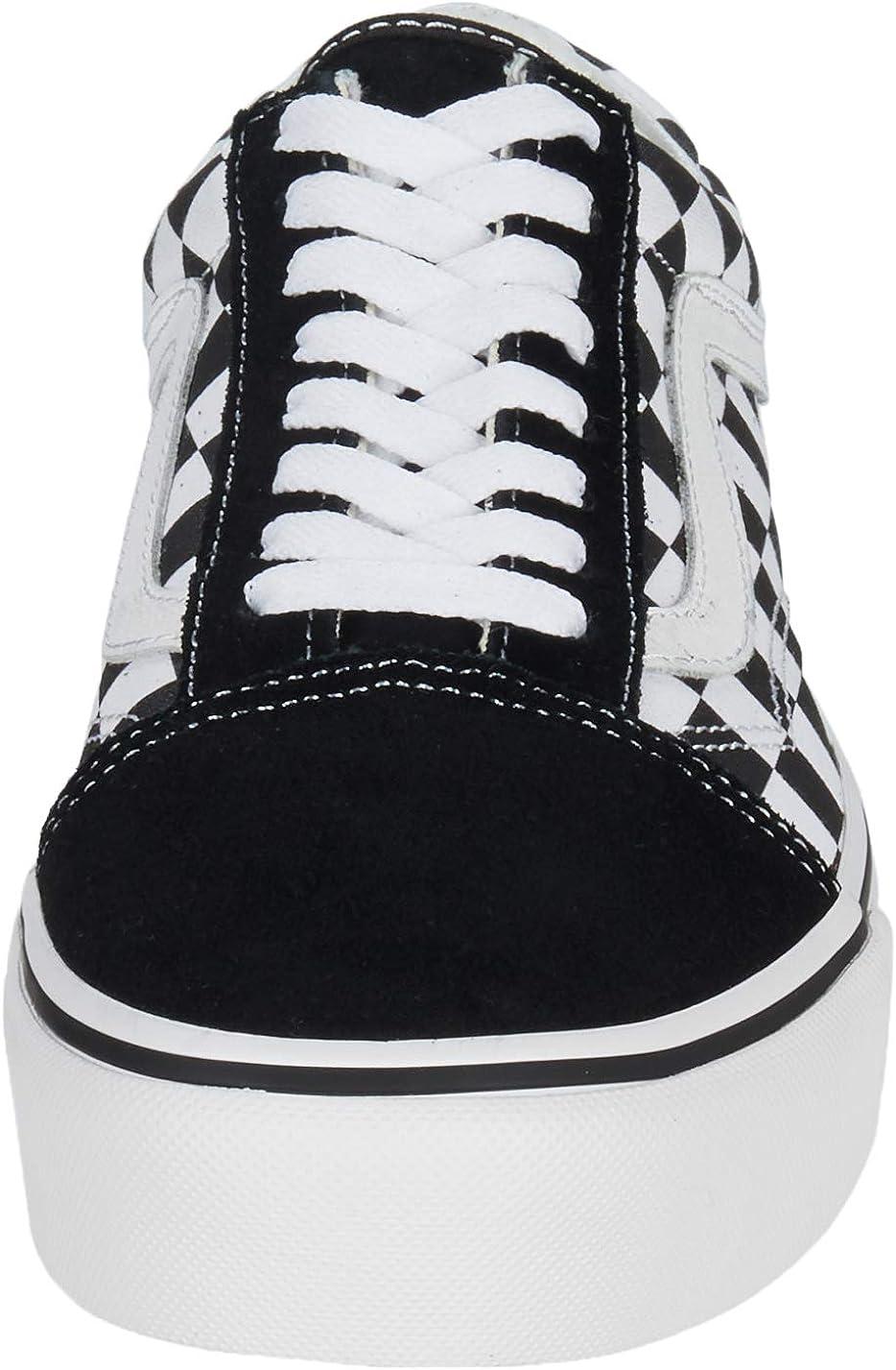 Vans Old Skool Trainers Black Lilac Rose ($90) ❤ liked on