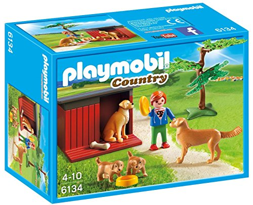 PLAYMOBIL® 6134 Country Golden Retrievers with Toy