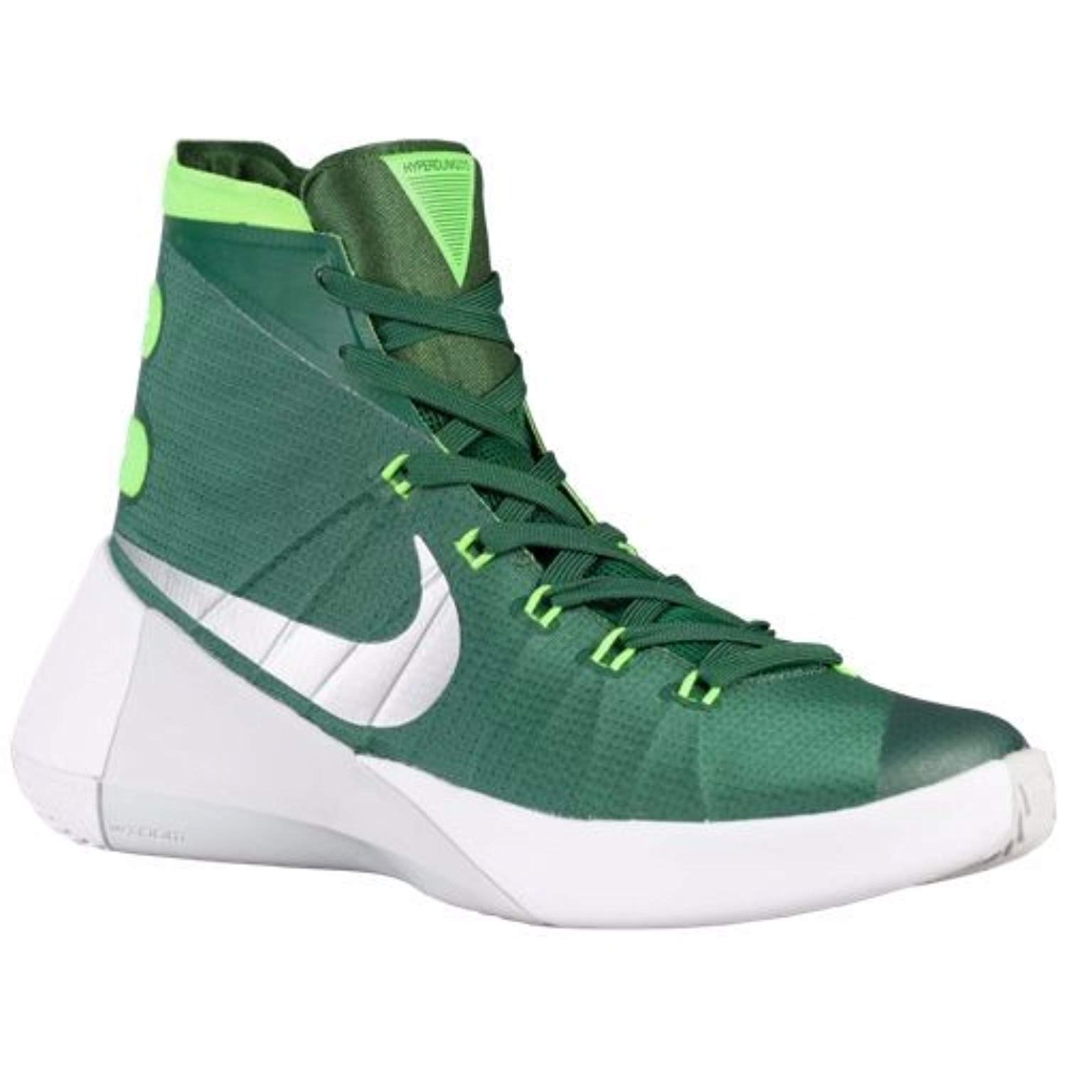 pretty nice 7ce24 8b544 Amazon.com   Nike Women s Hyperdunk 2015 TB Basketball Shoe (5.5 B(M) US,  Gorge Green Metallic Silver Electric Green)   Basketball