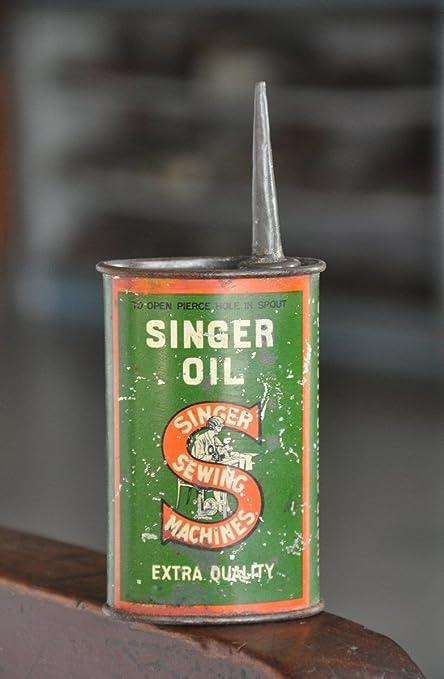 Buy Traders Of Lost Art Vintage Brass Singer Sewing Machine Oil Enchanting Singer Sewing Machine Oil Tin