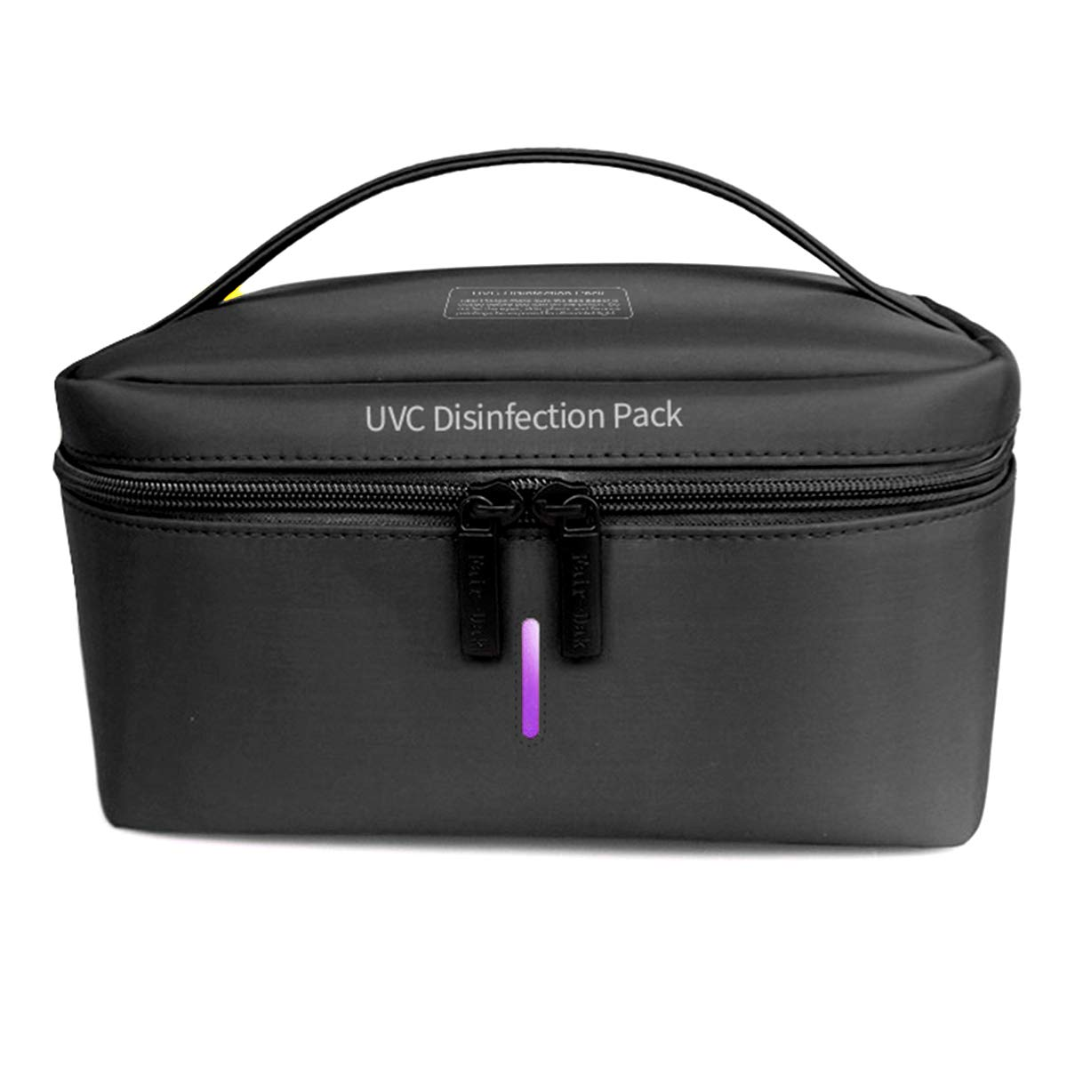 Portable UV Sterilization Pack Disinfection Bags USB Charged Sterilize Cleaner Box for Baby Clothes,Underwear,Phone Bottle,Toothbrush,Beauty Tools