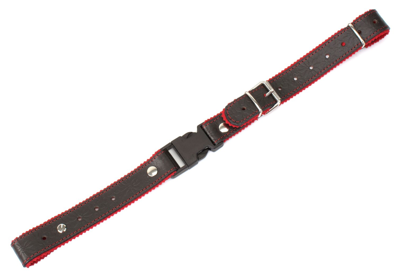 Alpenklang Straps for Accordion/Harmonica Brown/Red 00024131