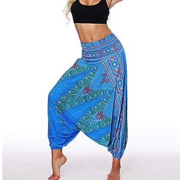 Shuangklei Pantalon De Yoga Femme Taille Unique, Style ...
