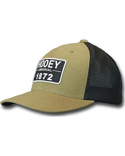 buy online f15c6 bbc0c Hooey Brand  quot Moab quot  Tan Black Trucker Hooey Since 1872 Patch  Snapback Trucker