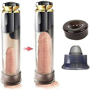 NASHATA USB Rechargeable Penǐsgrowth Pēnǐssleeves èxtenders Vacuum Pump Tool Enlargement Éxtêndêr Water Pump777-black