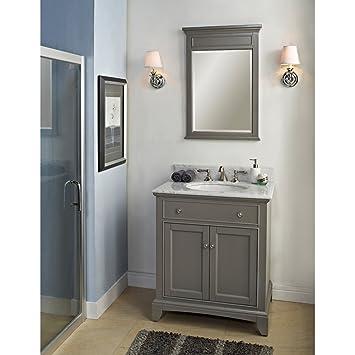 Fairmont Designs 1504 V30 Smithfield 30 Quot Vanity Medium Gray