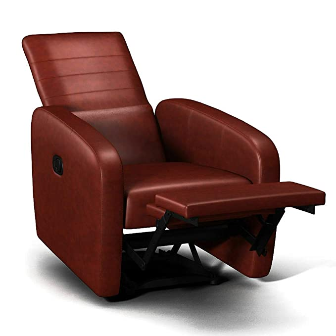 Amazon.com: Sillón reclinable manual contemporáneo plegable ...
