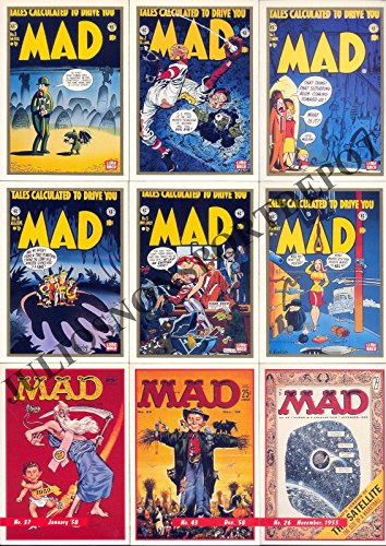 MAD MAGAZINE SERIES 1 1992 LIMEROCK COMPLETE BASE CARD SET OF 55 SPOOF