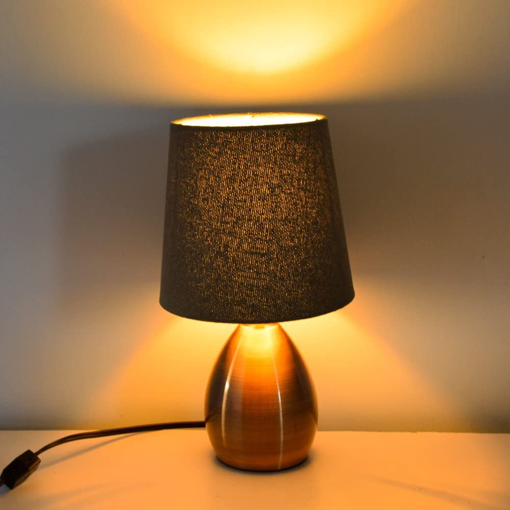 Details about Small Bedside Lamps Table lamp For Bedroom Nightstand,Living  Room Night Lights