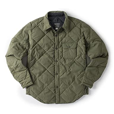 Todd Snyder x Rocky Mountain Featherbed Down Shirt: Olive
