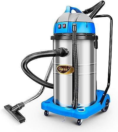 JION Aspiradora en húmedo y en seco, aspiradora 2000W 80L con silenciador, Potente succión de 20 Kpa, 2 en 1 multifunción seco/húmedo, Adecuada para Interiores y Exteriores: Amazon.es: Hogar