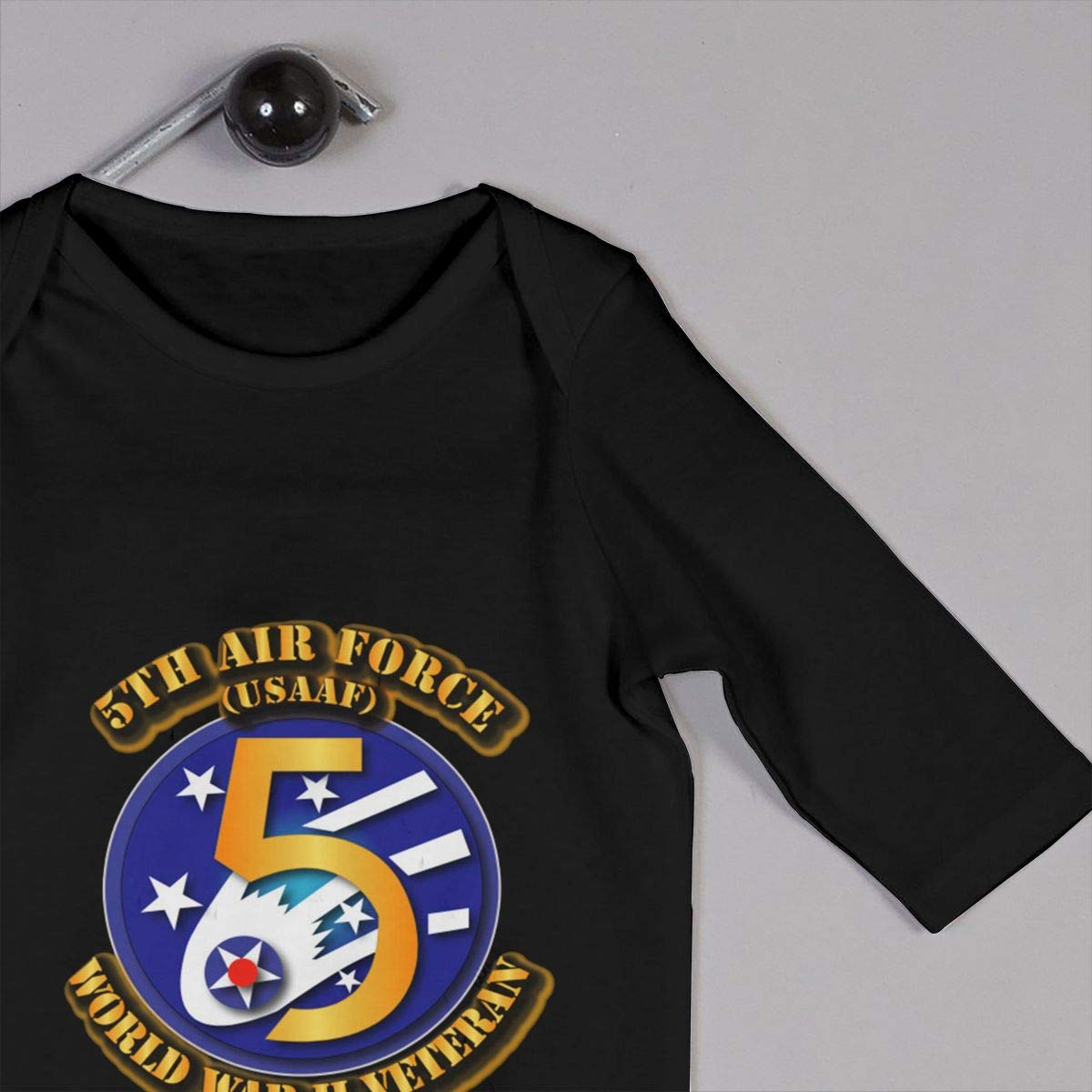 Gsaa 5th Air Force Baby Long Sleeve Bodysuit Cotton Romper