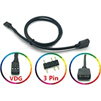LICHIFIT 5V 3PIN RGB VDG Conversion Line Cable Connector for GIGABYTE Motherboard