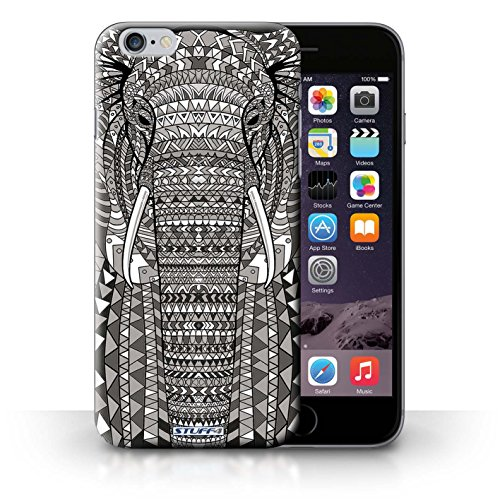 Etui / Coque pour iPhone 6+/Plus 5.5' / éléphant-Mono conception / Collection de Motif Animaux Aztec