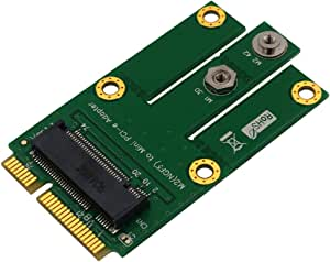 Timack M.2 NGFF Key B to Mini PCI-E Adapter for WWAN, CDMA,LTE, GPS Card (NGFF M.2 to miniPCI-E mPCIE)