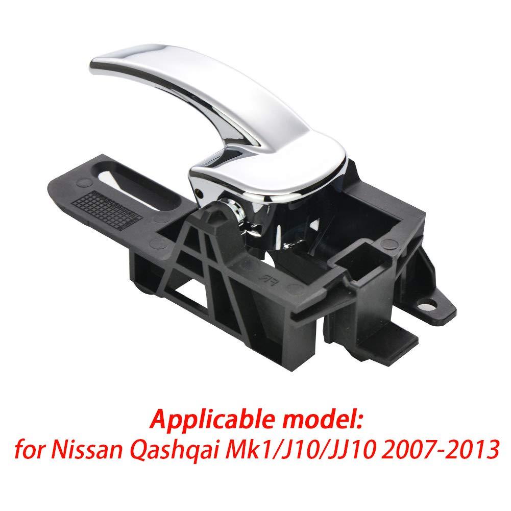 Car Door Handle for Nissan Car Exterior Left//Right Door Handle Outer Rear Or Front for Nissan Qashqai Mk1//J10//JJ10 2007-2013