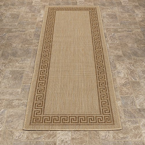Ottomanson Collection Natural Bordered Outdoor product image