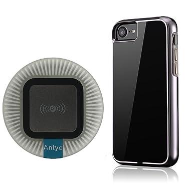 2 en 1 QI Cargador Inalámbrico Kit para iPhone 7 Plus/7, Qi ...