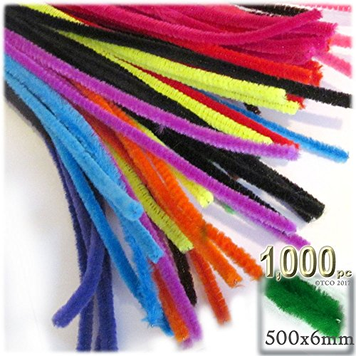 The Crafts Outlet Chenille Stems, Pipe Cleaner, 20-inch (50-cm), 1000-pc, Purple by The Crafts Outlet (Image #4)