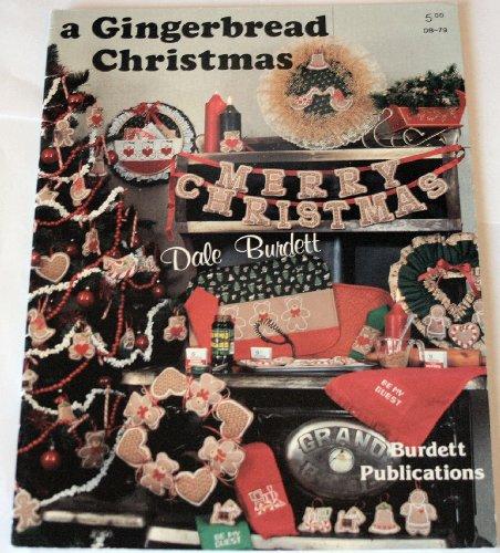 A Gingerbread Christmas (Cross Stitch Pattern Craft Book, DB-79)