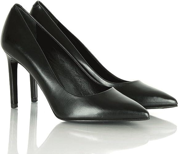 BOSS by Hugo Black Leather Mikon Women