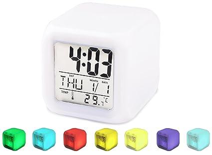 Reloj Despertador, Reloj Despertador SpeedV Despertador Reloj Digital para Adultos, Niños y Adolescentes Despertadores