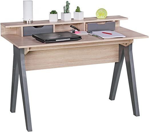 Home Collection24 Escritorio Samo 120 cm Diseño Oficina Mesa ...