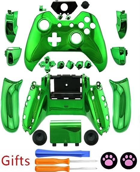Nueva costumbre carcasa completa carcasa con botones para Xbox One ...