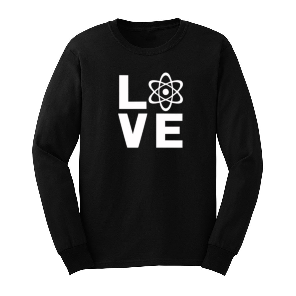 S Love Science T Shirts Casual Tee