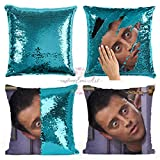 Joey Tribbiani sequin pillow | sequin Pillowcase | Two color pillow | gift for her | gift for him | magic pillow Friends TV Show