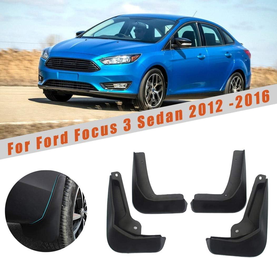 Amazon.com: Car Mudguards for Ford Focus 3 MK3 Sedan 2011 2012 ...