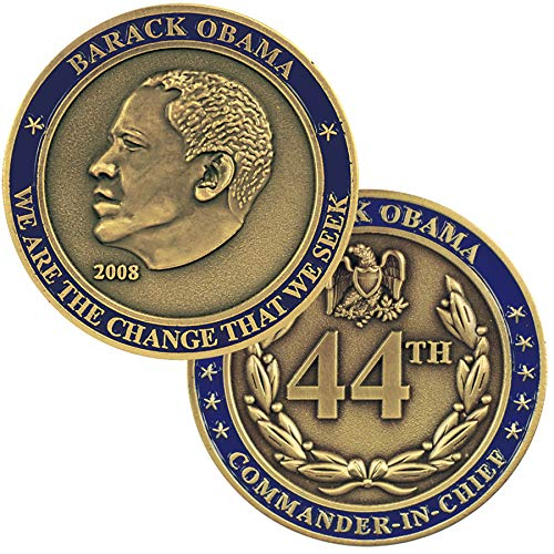 Medals of America President Barack Obama Challenge Coin Silver