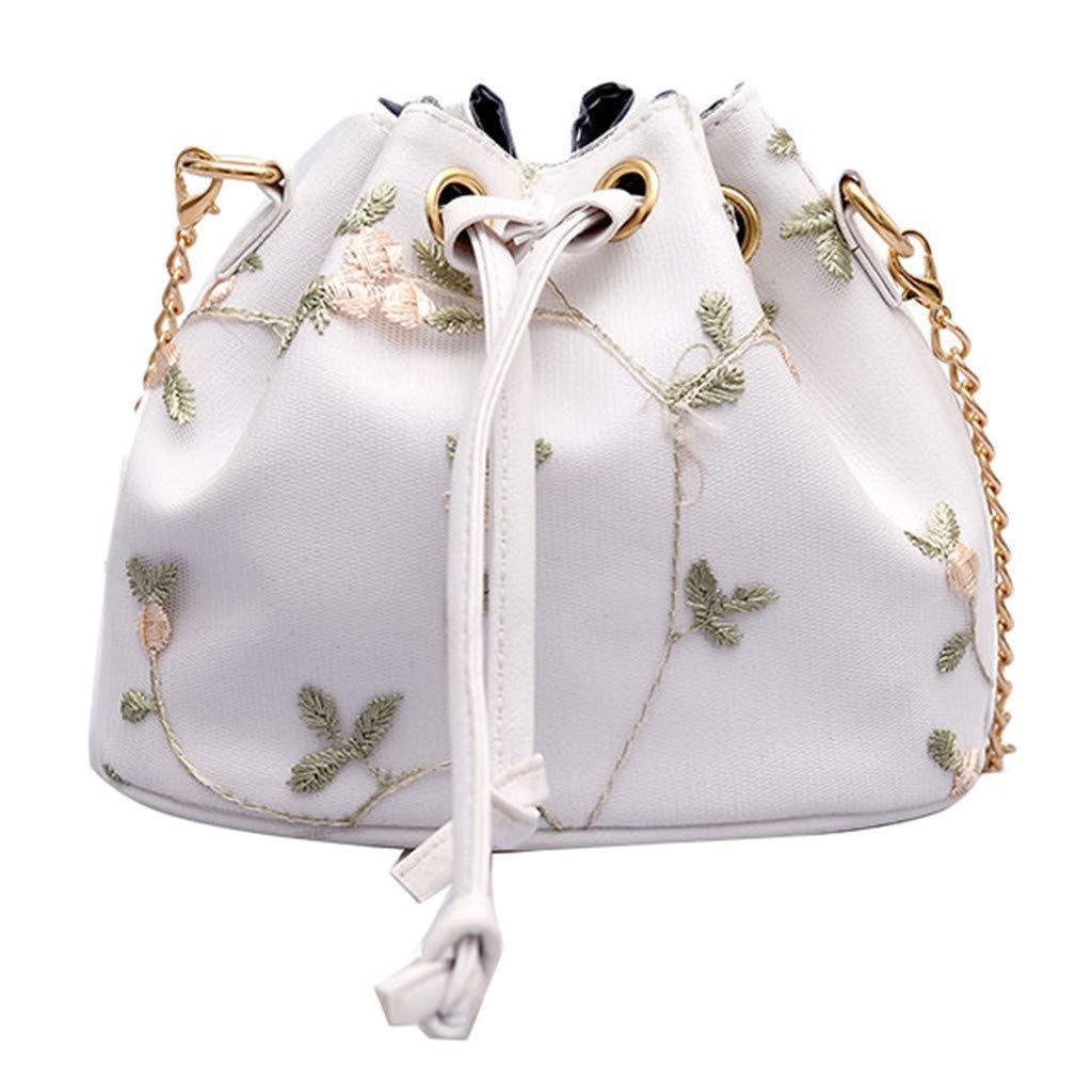 a0d877a99330 Amazon.com: Yiwanjia Women Fashion Drawstring Bucket Crossbody Bags ...