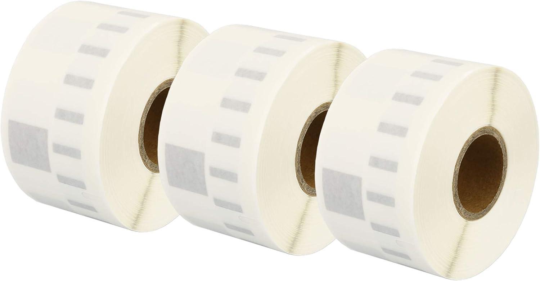 110 /Étiquettes par Rouleau Printing Saver 5X 99019 59 x 190 mm Compatibles /Étiquettes classeur pour Dymo LabelWriter 310 320 330 4XL 400 450 Turbo//Twin Turbo//Duo /& Seiko SLP Etiqueteuses