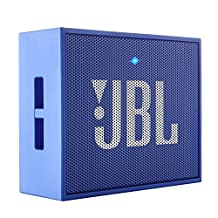 JBL GO Portable Wireless Bluetooth Speaker W/ A Built-In Strap-Hook (BLUE)