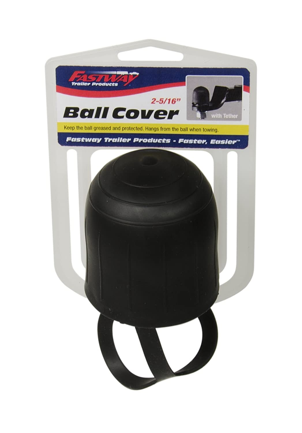 Fastway 82-00-3220 2' Ball Cover with Tether Fastway Trailer Products