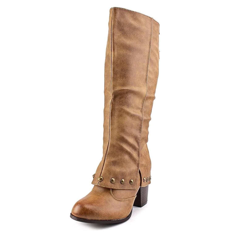 2 Lips Too Too Listed Women US 10 Tan Knee High Boot