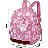 Pink Rabbit Cute Kids Children Backpack Bag for Girls