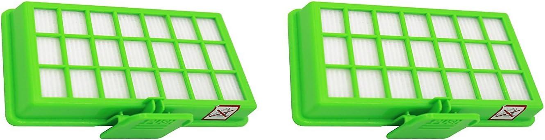 Green Label Empaque de 2 Filtros HEPA para las Aspiradoras Rowenta ...