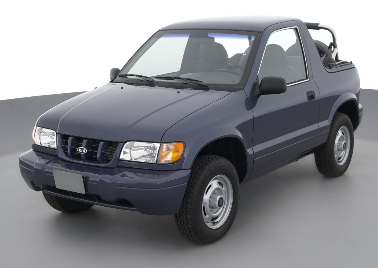 2002 Kia Sportage, 2-Door Convertible Automatic Transmission ...