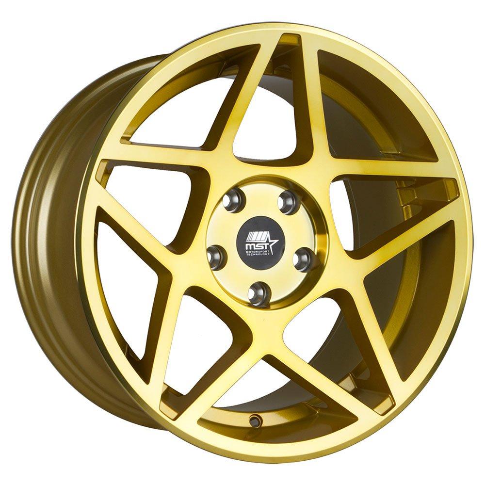 MST Wheels - MT26 17'' Rim (Single Wheel) - 17x9.0 Transparent Gold (5x114.3, ET+30)