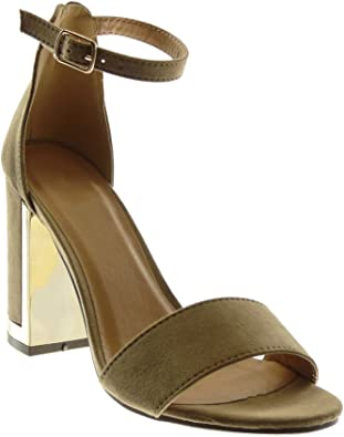 Chaussure Angkorly Mode Cheville Sandale lanière Escarpin rtQsdChxB